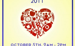004 Wonderful Health Fair Flyer Template Free Design  Download