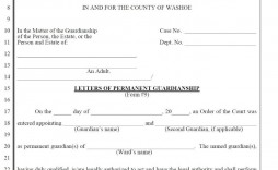 004 Wonderful Permanent Guardianship Letter Template High Resolution  Uk