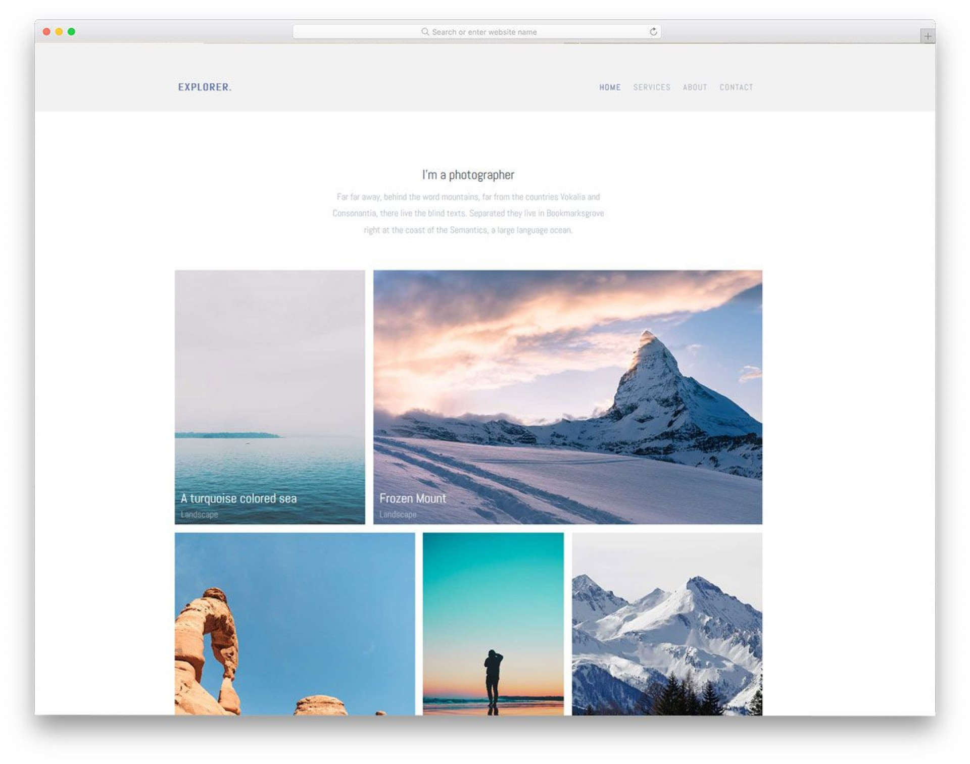 004 Wonderful Simple Web Page Template Photo  Free Download Html Code1920