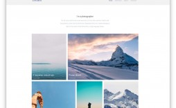 004 Wonderful Simple Web Page Template Photo  Free Download Html Code