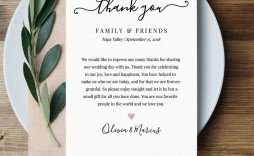 004 Wonderful Thank You Note For Wedding Guest Template Inspiration  Card