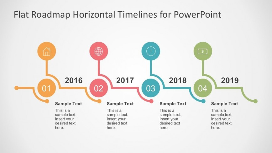 004 Wonderful Timeline Format For Ppt Concept  Powerpoint Template Pptx Free