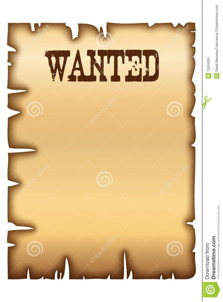 004 Wonderful Wanted Poster Template Microsoft Word High Definition  Western Most728