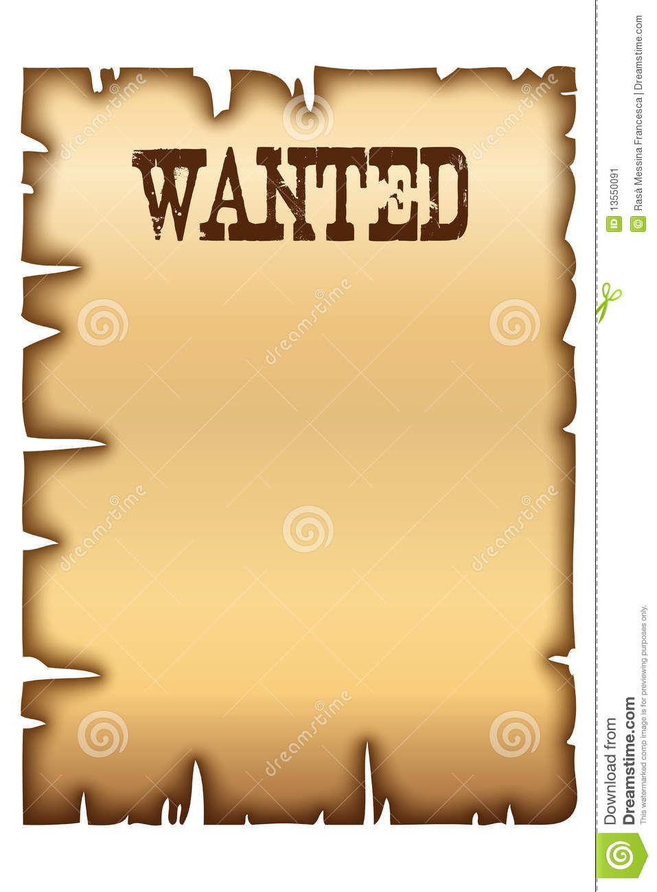 004 Wonderful Wanted Poster Template Microsoft Word High Definition  Western MostFull