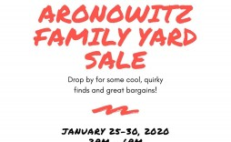 004 Wonderful Yard Sale Flyer Template Picture  Word Example Microsoft