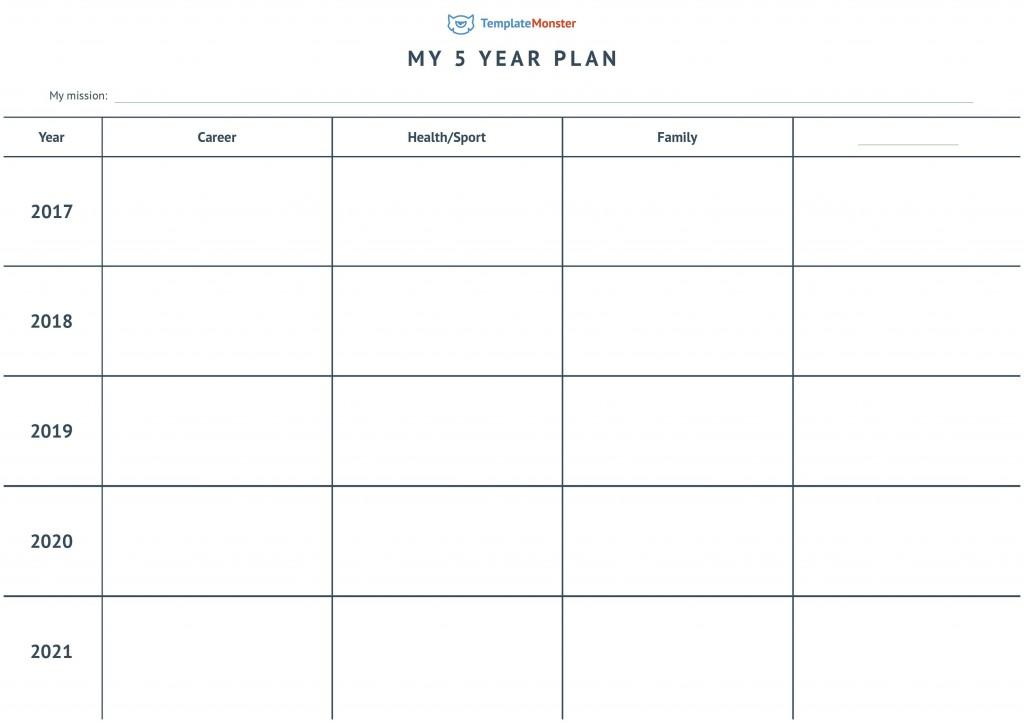 004 Wondrou 5 Year Plan Template Photo  Pdf Busines For CoupleLarge