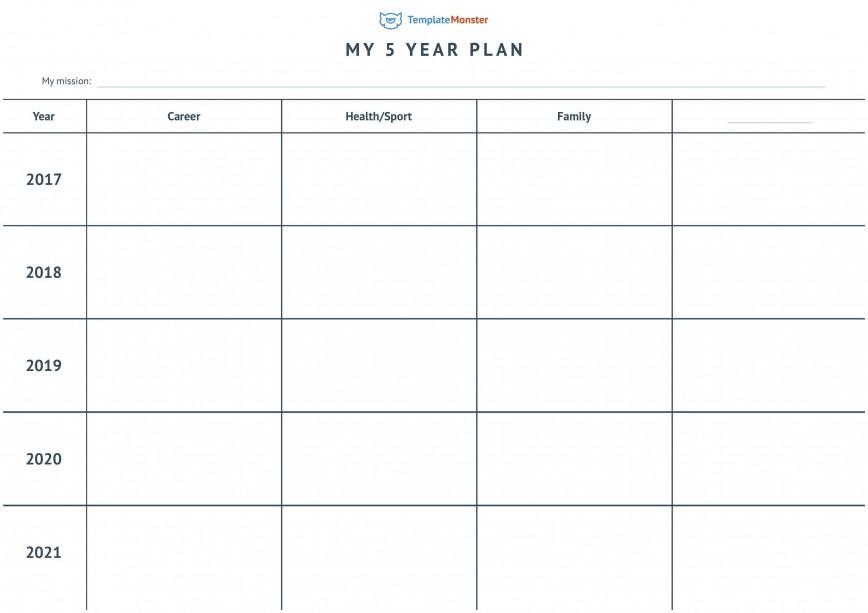 004 Wondrou 5 Year Plan Template Photo  Financial Excel Strategic Busines Pdf Career