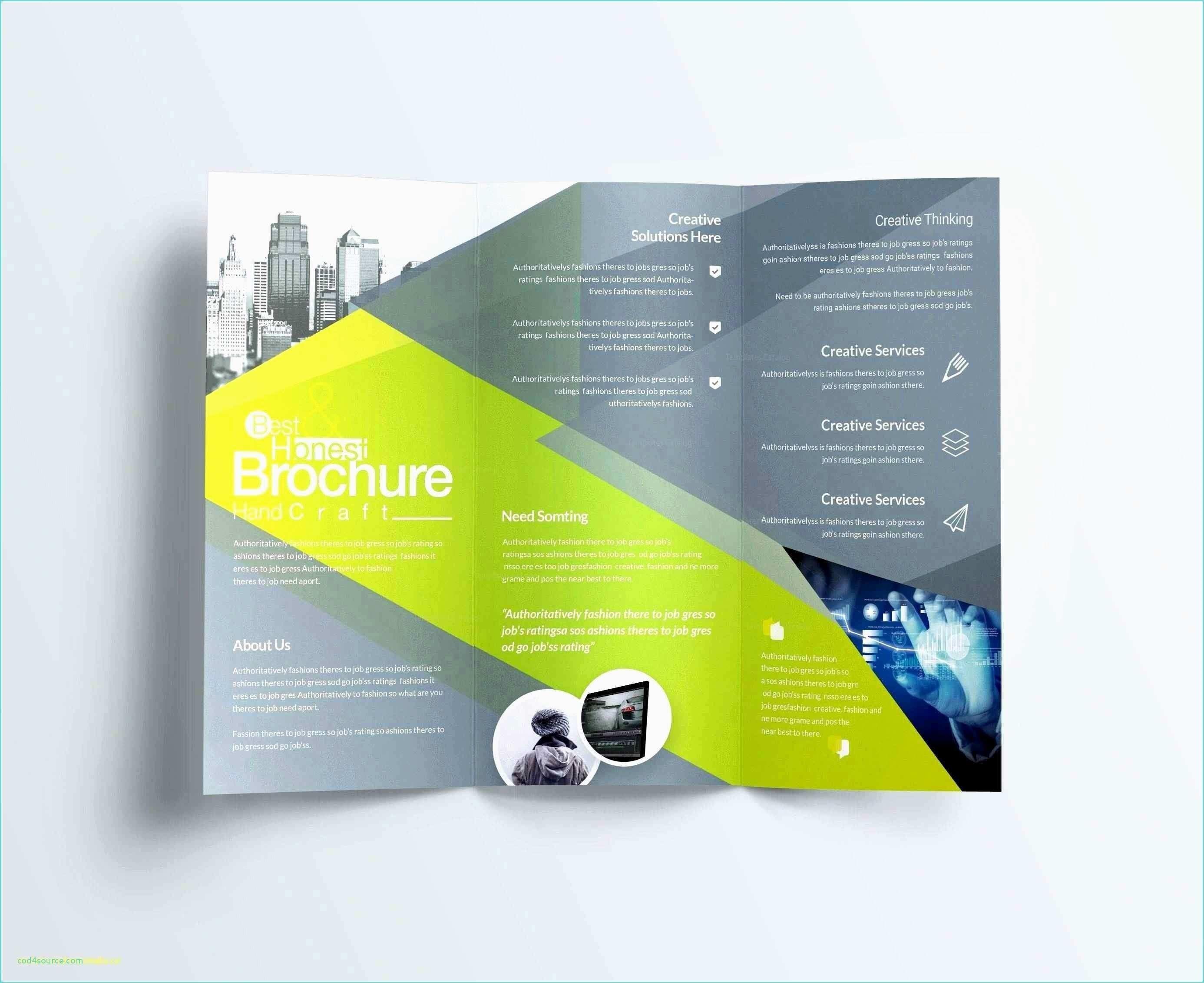 004 Wondrou Brochure Template For Word Mac Inspiration  Tri Fold FreeFull
