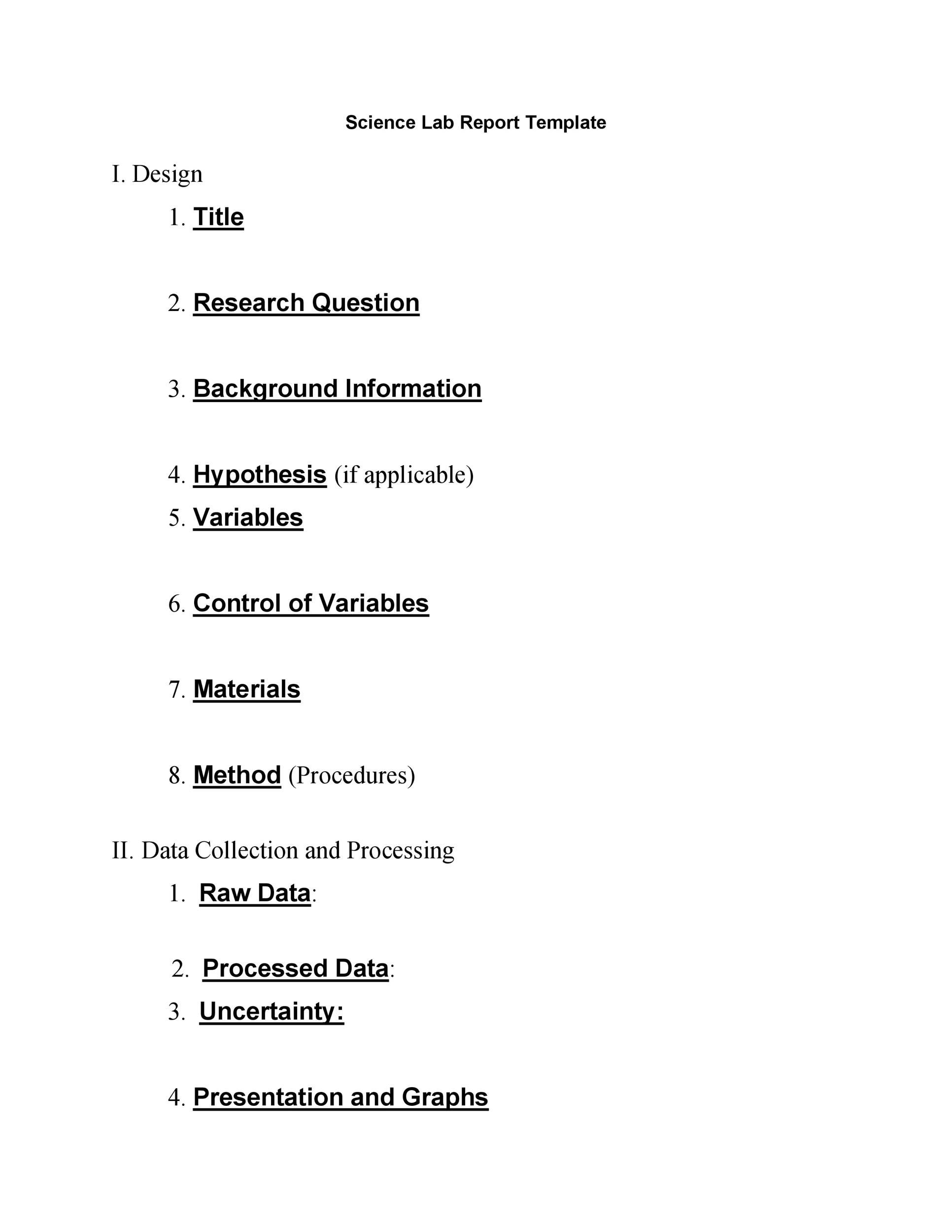 004 Wondrou Formal Lab Report Template Photo  Biology Introduction Example ScienceFull