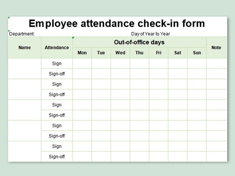 004 Wondrou Free Employee Sign In Sheet Template Highest Clarity  Schedule Pdf Weekly Timesheet Printable960