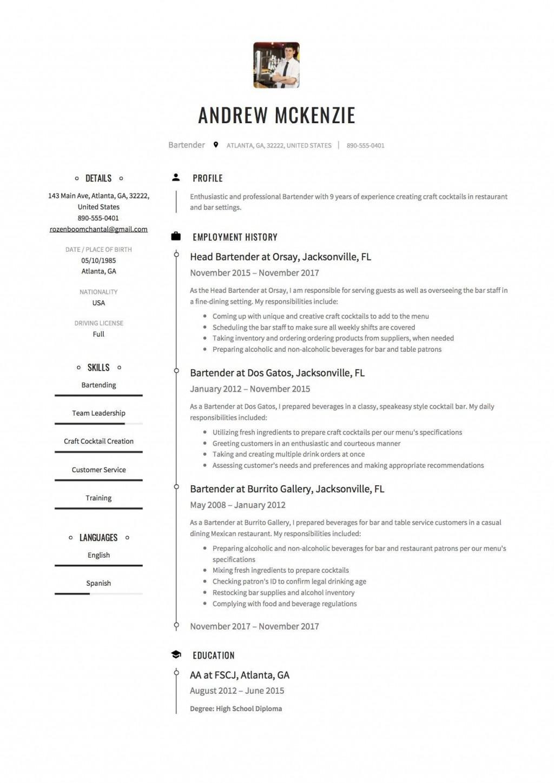 004 Wondrou Free Resume Template 2018 Printable High Resolution Large