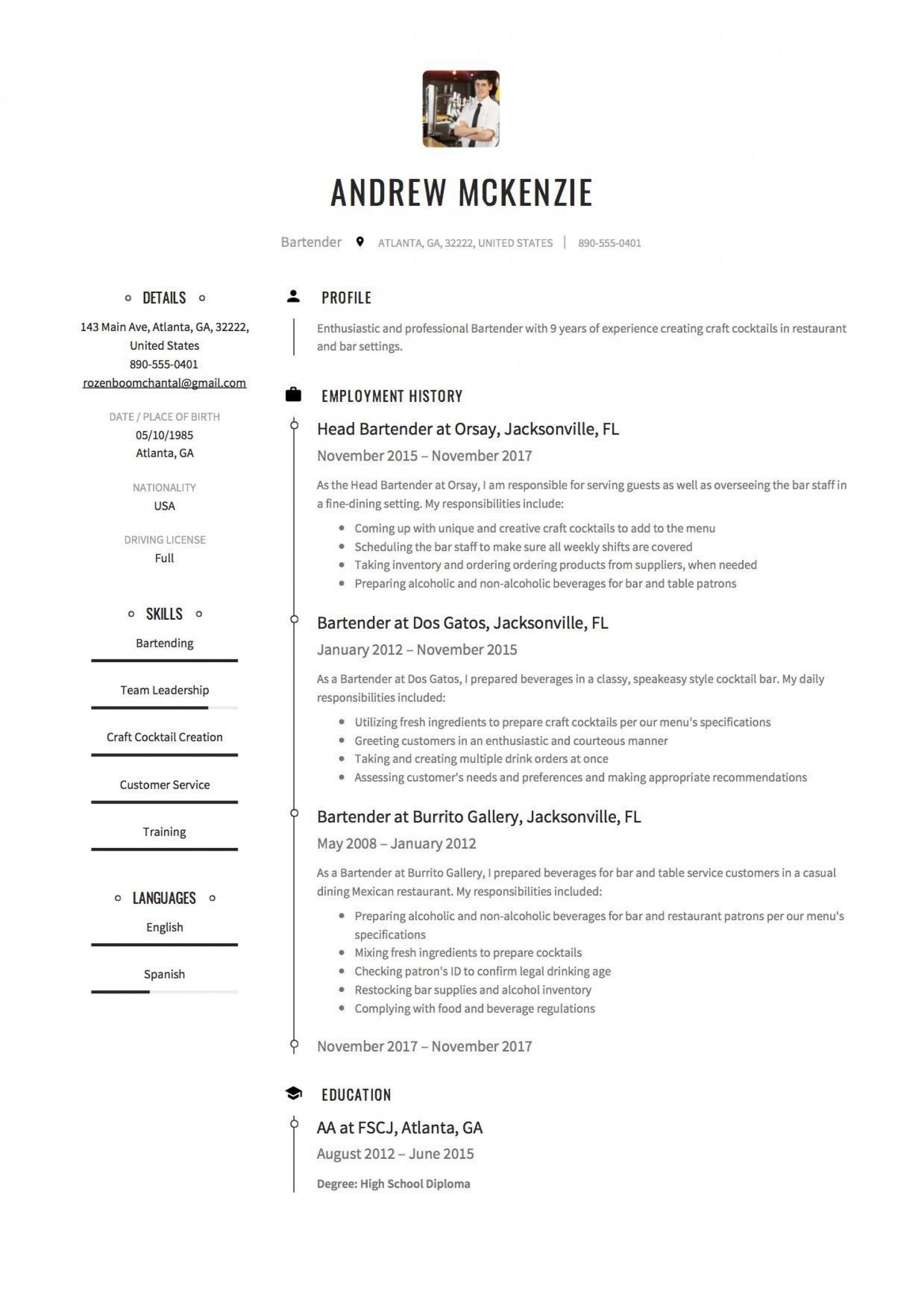004 Wondrou Free Resume Template 2018 Printable High Resolution 1920