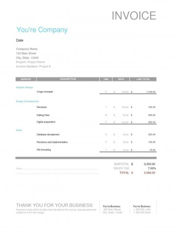 004 Wondrou Freelance Graphic Design Invoice Example Highest Quality  Contract Template Sample360