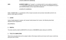 004 Wondrou Lease To Own Contract Template Inspiration  Free Form Commercial Agreement Car