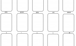 004 Wondrou Playing Card Template Word Doc High Resolution  Document