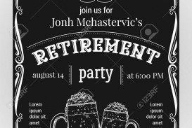 004 Wondrou Retirement Party Invitation Template Free Word High Definition  M
