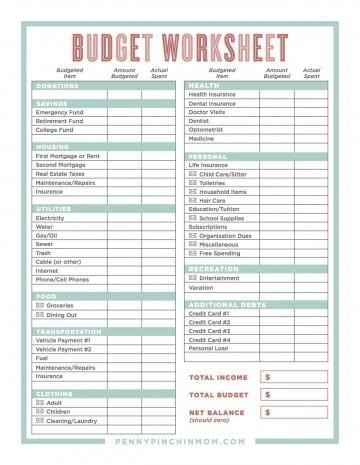 004 Wondrou Sample Line Item Budget Template Example 360