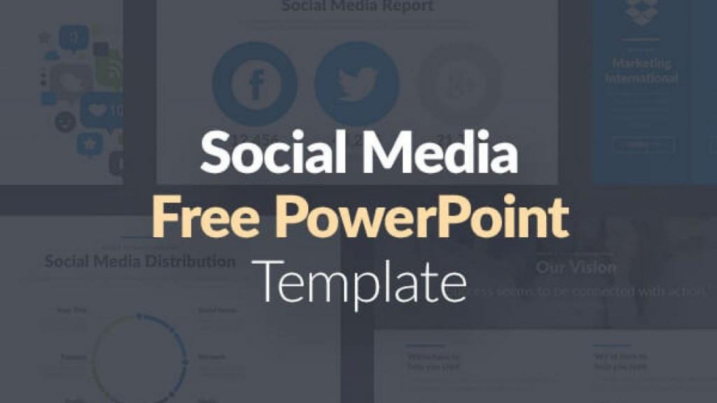 004 Wondrou Social Media Powerpoint Template Inspiration  Templates Report Free Social-media-marketing-powerpoint-templateLarge