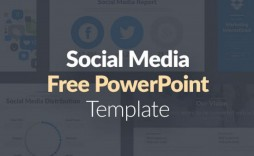 004 Wondrou Social Media Powerpoint Template Inspiration  Templates Report Free Social-media-marketing-powerpoint-template