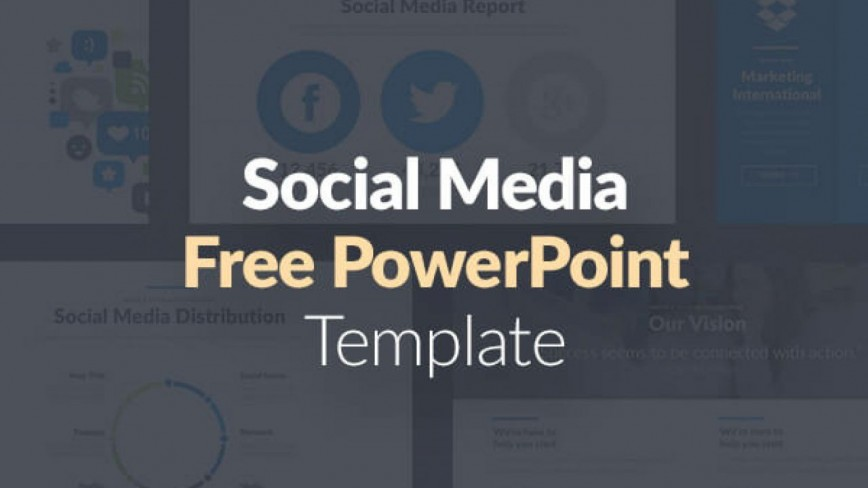 004 Wondrou Social Media Powerpoint Template Inspiration  Templates Free Download Animated Marketing Ppt