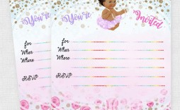 005 Amazing Baby Shower Invitation Girl Princes Image  Princess Theme