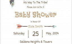 005 Amazing Free Baby Shower Card Template For Word High Def