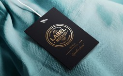 005 Amazing Free Clothing Label Design Template Concept  Templates Download
