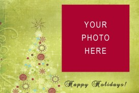 005 Amazing Free Download Holiday Card Template Photo
