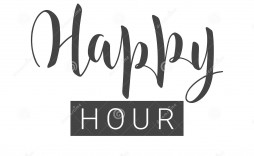 005 Amazing Happy Hour Invitation Template Idea  Templates Free Word Farewell
