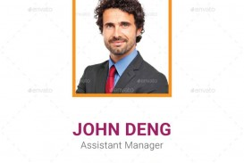 005 Amazing Id Badge Template Photoshop Example  Employee
