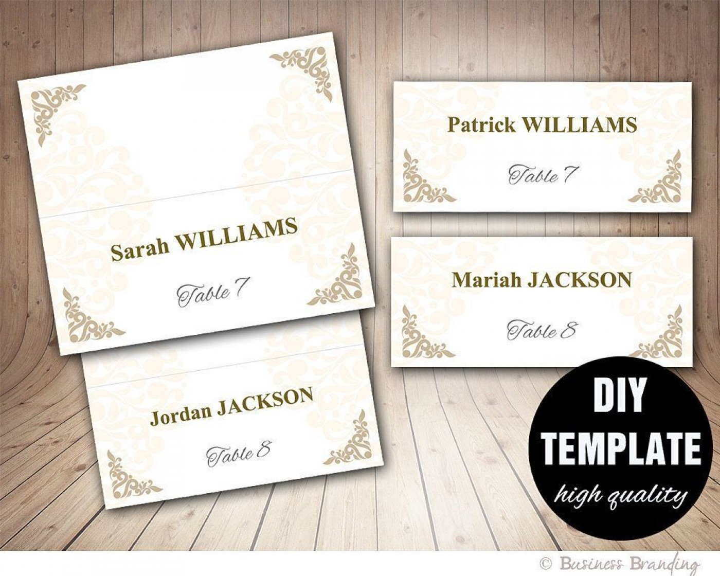 005 Amazing Microsoft Word Place Card Template Highest Quality  Table Free Print Name1400
