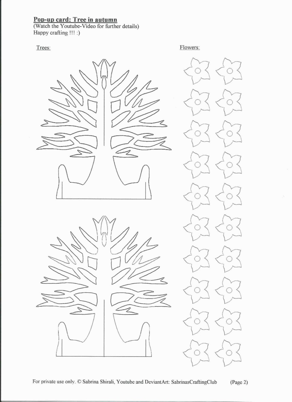 005 Amazing Pop Up Card Template Free Sample  Download Pdf Christma Kirigami PatternLarge