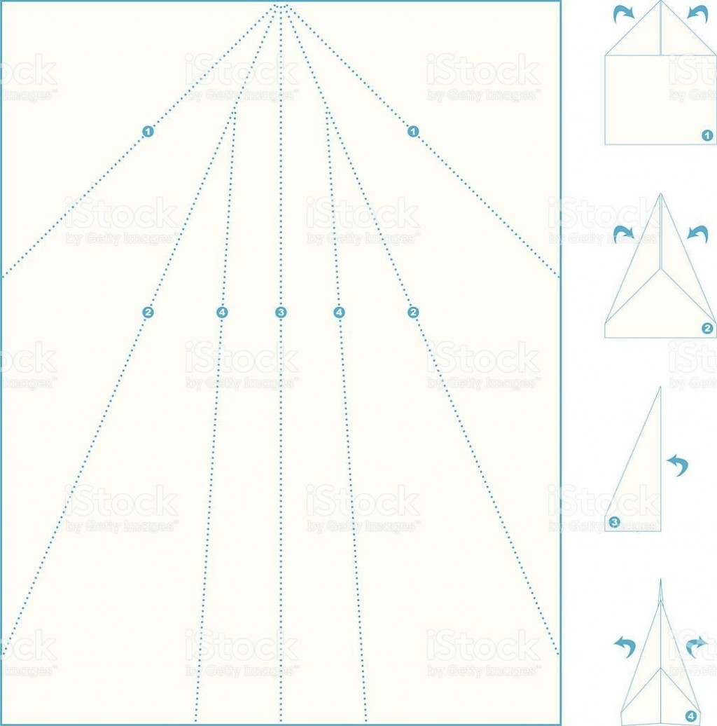 005 Amazing Printable Paper Airplane Instruction High Definition  Free Pdf DartLarge