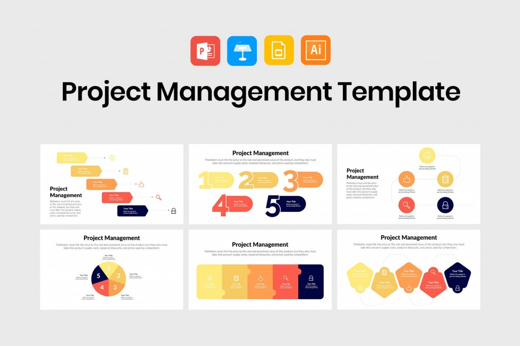 005 Amazing Project Management Powerpoint Template Free Download Image  Sqert DashboardLarge