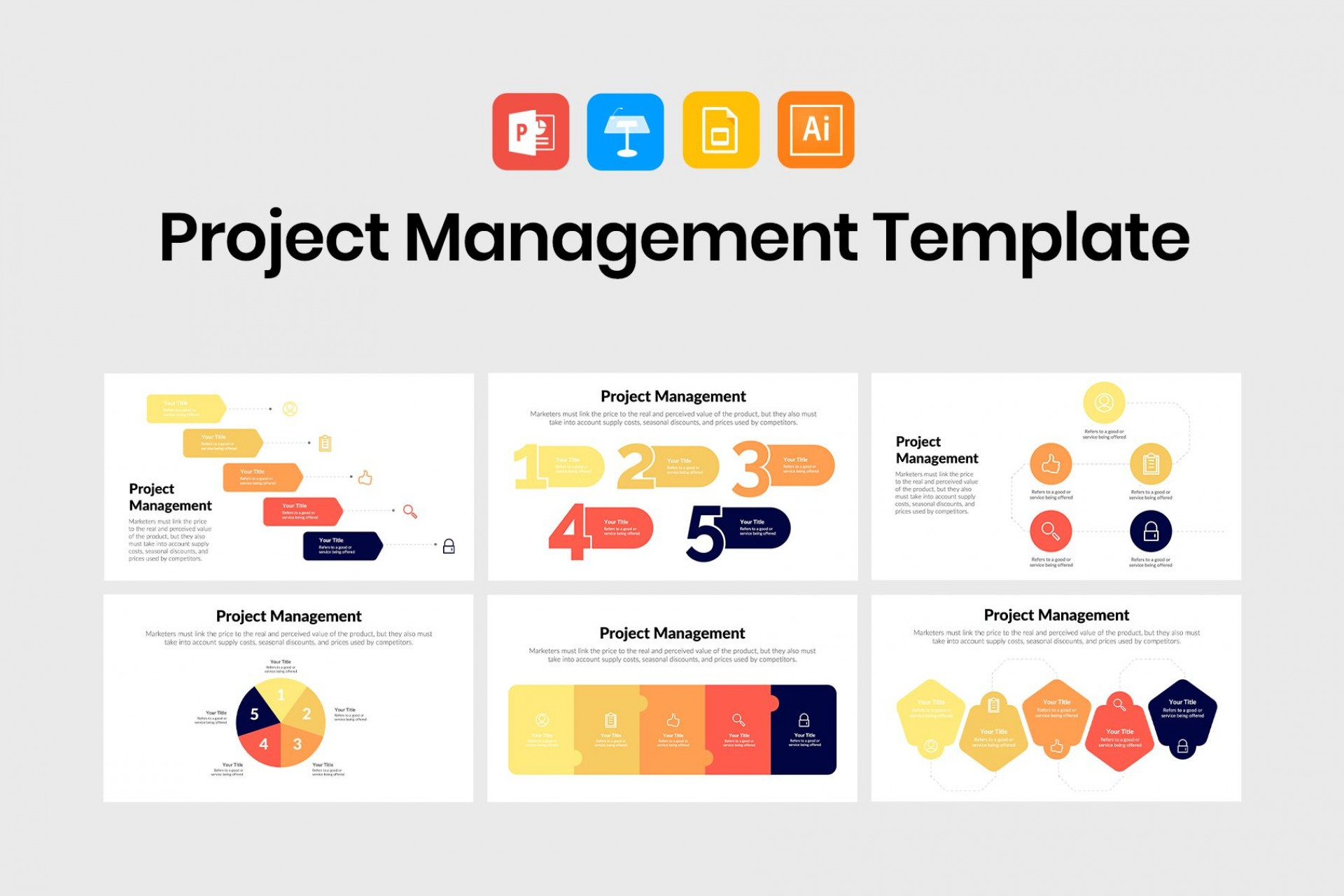 005 Amazing Project Management Powerpoint Template Free Download Image  Sqert Dashboard1920