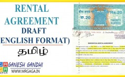 005 Amazing Renter Lease Agreement Form Inspiration  Landlord Rental Rent Format In Tamil Free