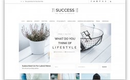 005 Amazing Simple Html Blog Template Free Download Example  With Cs