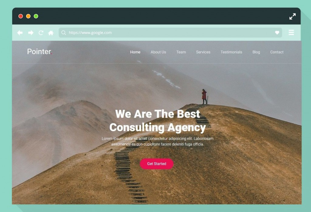 005 Amazing Single Page Website Template Idea  Templates Free Download One HtmlLarge