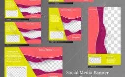 005 Amazing Social Media Banner Template Free Concept