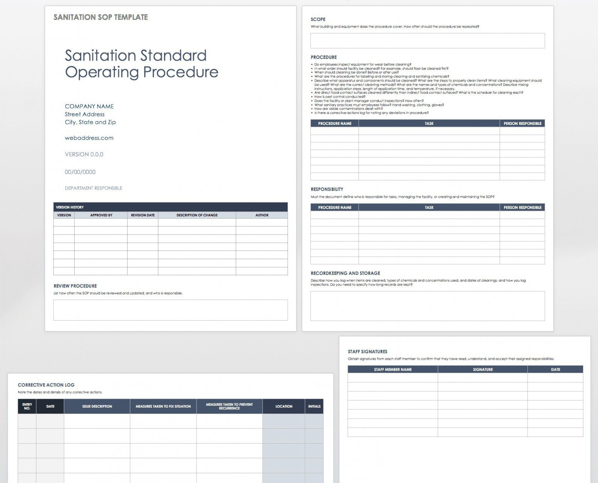 005 Amazing Standard Operating Procedure Template Word Image  Microsoft (sop) Format Download1920