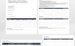 005 Amazing Standard Operating Procedure Template Word Image  Example Free Microsoft Download
