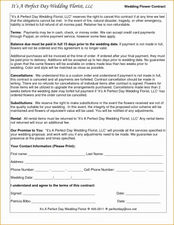 005 Amazing Wedding Videography Contract Template Highest Clarity  Pdf Example Word360