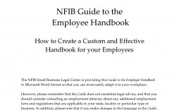 005 Archaicawful Employee Handbook Template Word High Def  Nonprofit Free Sample In Malaysia