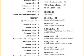 005 Archaicawful Free Menu Template For Word High Definition  Cupcake Download Drink Microsoft