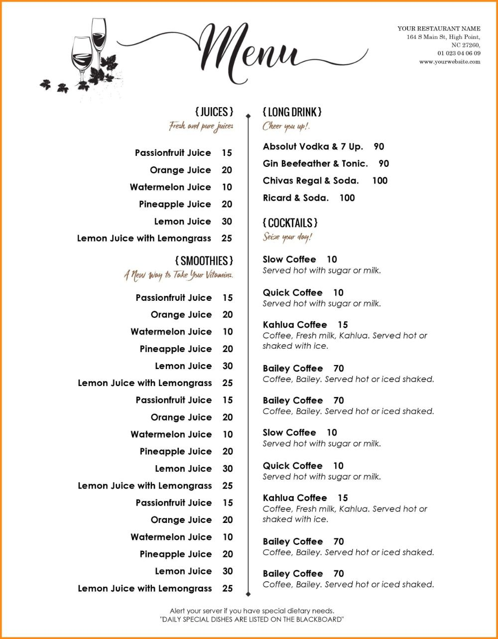 005 Archaicawful Free Menu Template For Word High Definition  Cupcake ChristmaFull