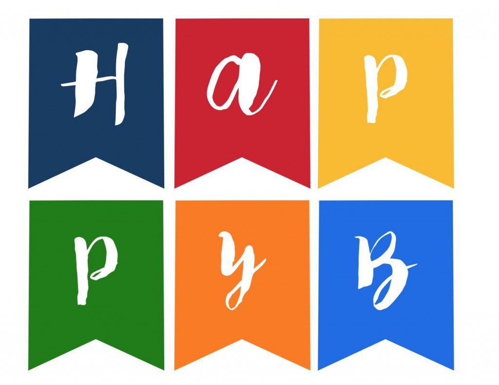 005 Archaicawful Happy Birthday Sign Template High Definition  Banner Printable Pdf Free WordLarge