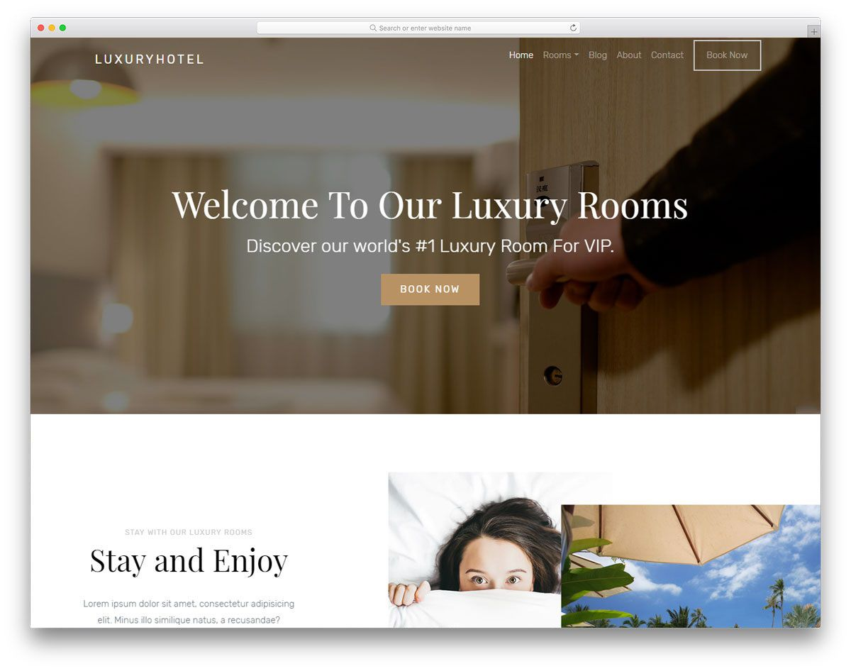 005 Archaicawful Hotel Website Template Html Free Download Concept  With Cs Responsive Jquery And RestaurantFull