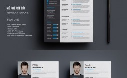 005 Archaicawful How To Create A Resume Template In Photoshop Image