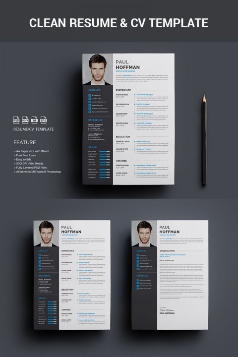 005 Archaicawful How To Create A Resume Template In Photoshop Image 480