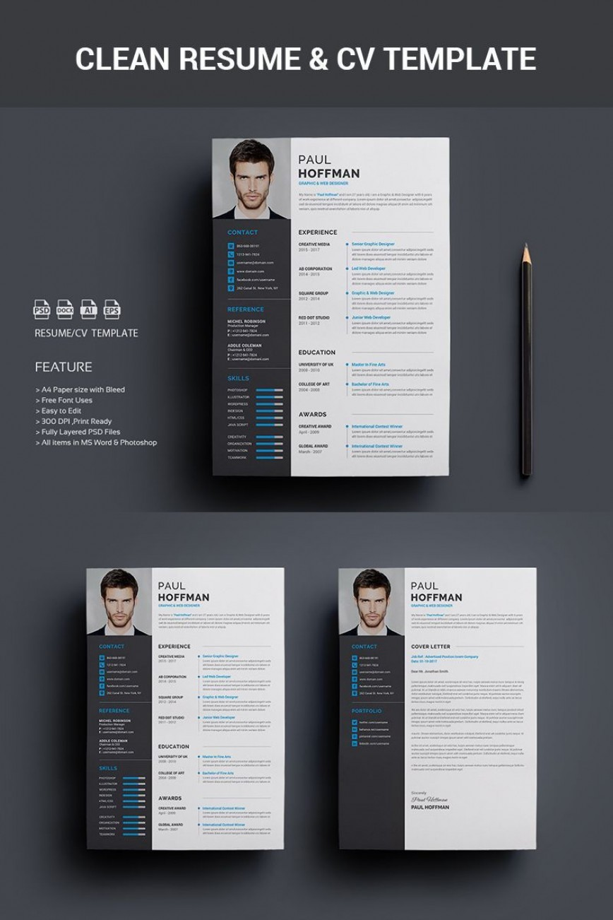 005 Archaicawful How To Create A Resume Template In Photoshop Image 868